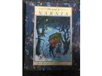 Land of narnia hardback book