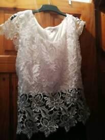 Beautiful lace plus size dress