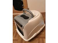 Large cat flat hooded toilet *Brand new/ unused*