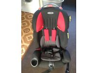 Graco Nautilus Elite Car Seat Black and red and grey