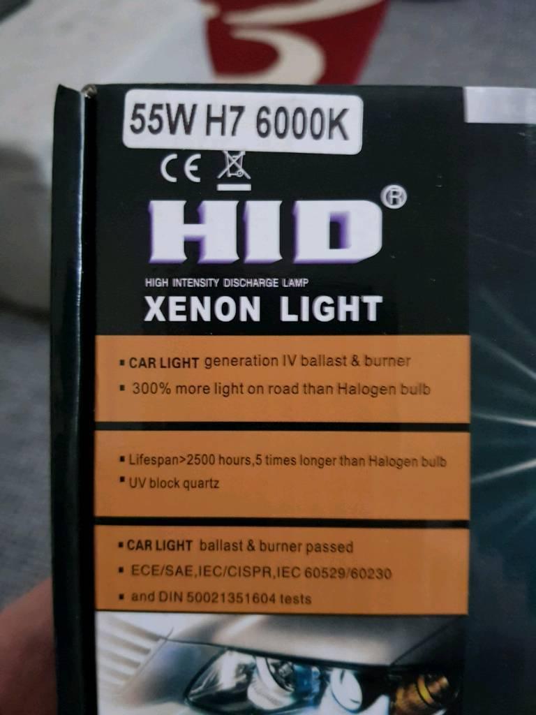 Xenon hid lights