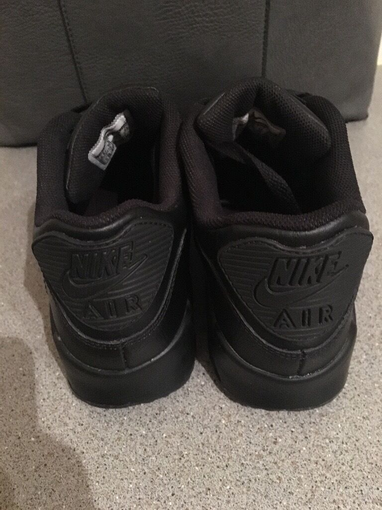 dasws Black Nike air max 90 trainers immaculate condition genuine | in