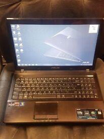 Asus x53u - 320gb HDD - 6gb Ram - Black Laptop