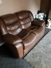 Harvey's leather reclining sofas