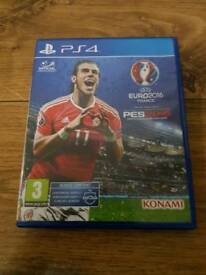 PS4 PES2016 Pro Evolution Soccer Euro 2016 Full Game