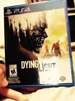 Dying light for ps4 for sell 40$ or best offer