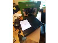 Xbox one with leads boxed can deliver