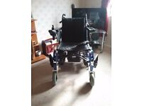 Enigma power wheelchair 18ins width seat