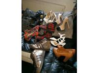 womens shoes 8 pairs