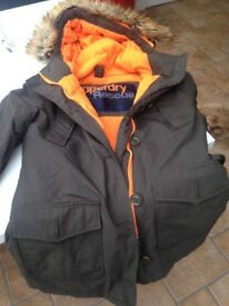 Superdry winter coat