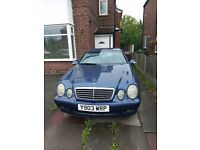 2001 Mercedes 230 CLK. For Sale