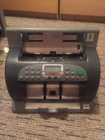 DeLaRue EV8650 cash counting machine