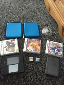 Nintendo 2 ds, games, and accessories