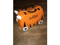 Kids Tipu Tiger Trunki - Ride On Pull Along Suitcase