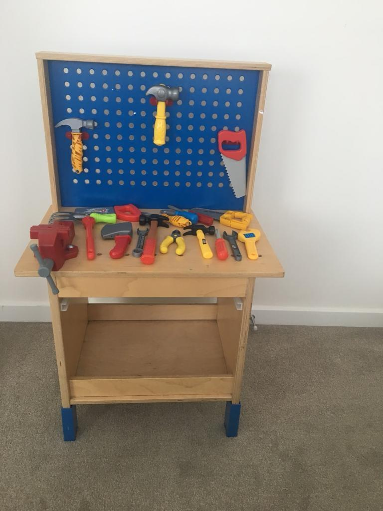 Cool Ikea Kids Work Tool Bench Loads Of Toy Tools Very Good Condition Wooden In Bournemouth Dorset Gumtree Gmtry Best Dining Table And Chair Ideas Images Gmtryco
