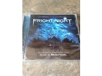 FRIGHT NIGHT. ORIGINAL MOTION PICTURE CD SOUNDTRACK. NEW / SEALED.
