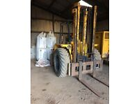 Sanderson SB55 Forklift with bucket and tines