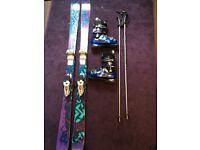 K2 Skis / Lange Ski Boots / Poles bundle