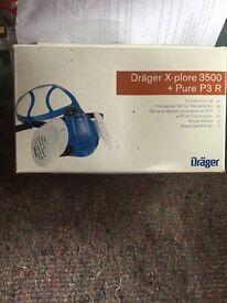 Draper twin combi filter respirator