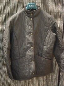 barbour ladies quilt jacket,new with tags on.worth £129.99