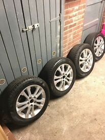 "Kia 16"" alloys"