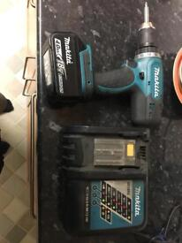 Makita Drill & Charger & 4.0 Ah Battery!