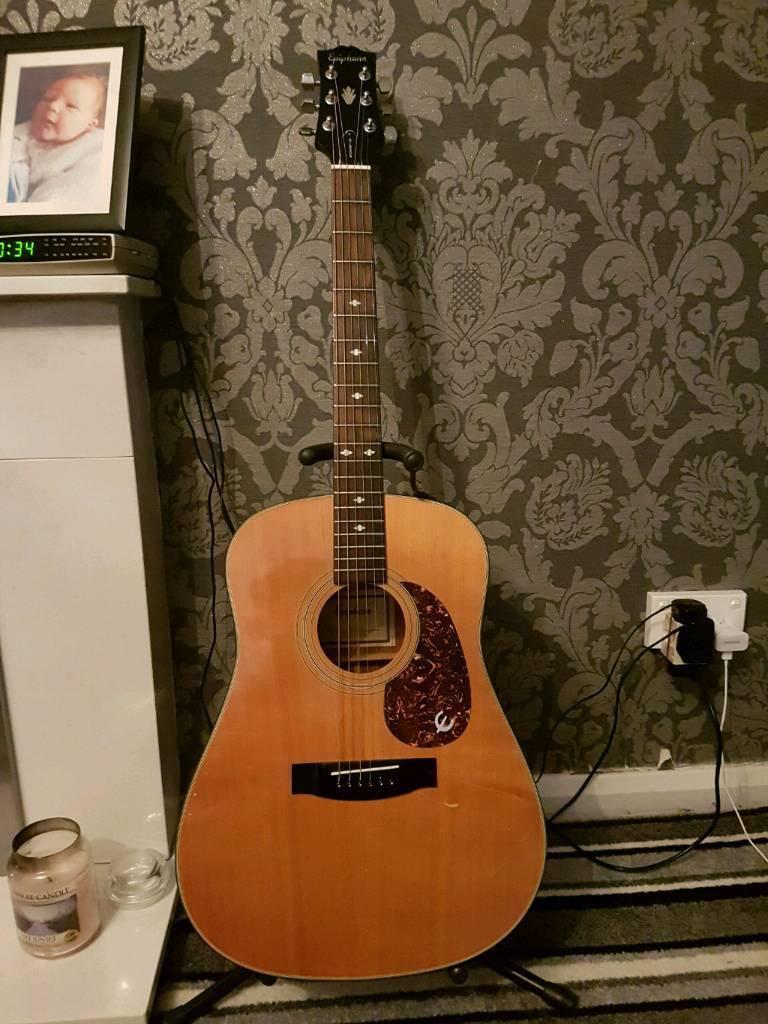 88 epiphone pr350s acoustic