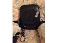 Back massage chair mat