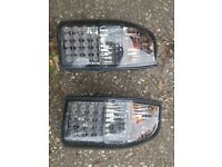 Mitisbishi l200 k74 rear led lights