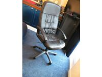 Computer Chair. High Back Swivel. Good Condition.