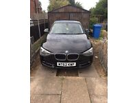 BMW 116d Black Great Condition FSH