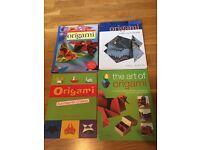 Origami book x 4