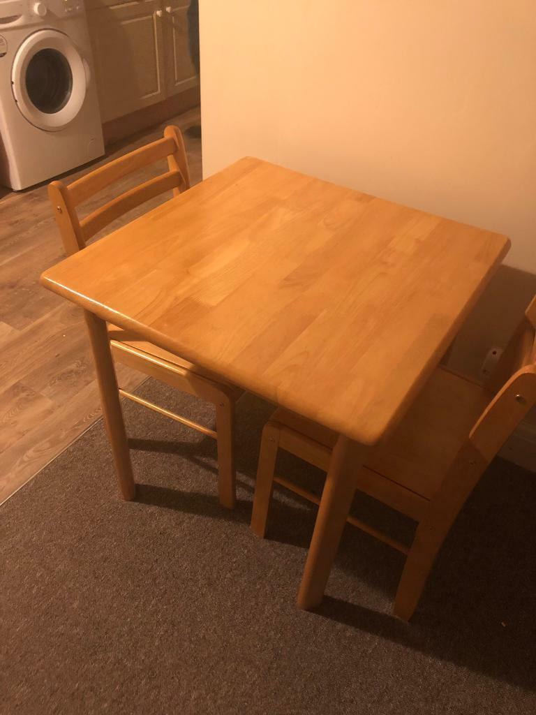 Beach Dining Table And Two Chairs Hull