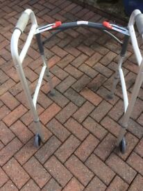 Zimma Folding Walker / Mobility Aid with Wheels