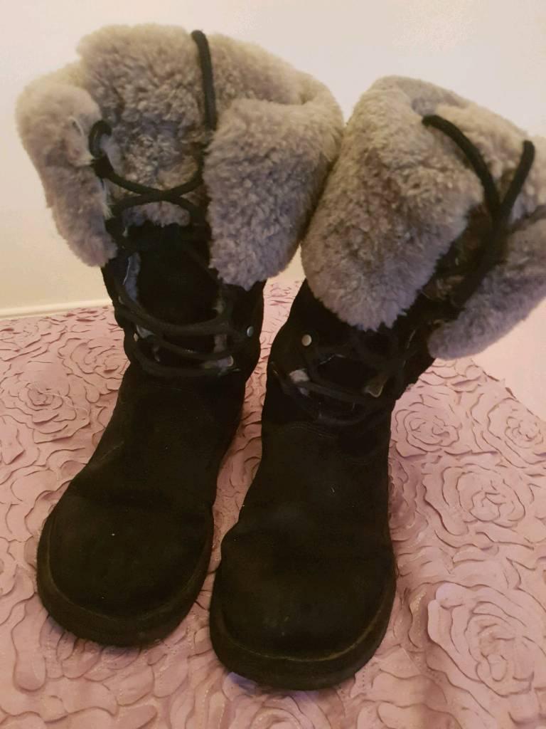 0a47ff1aa03 Ladies Ugg Boots Black Size 5   in Bearsden, Glasgow   Gumtree