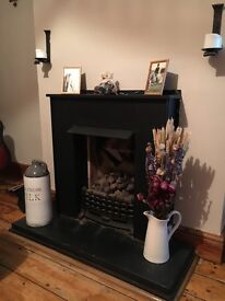 Gas fireplace - lovely looking, fully working and dismantled.