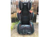 Recaro high back booster seat black