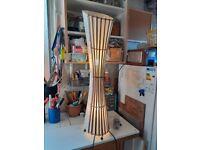 Handmade floor standing lamp