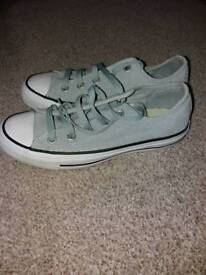 Converse all star grey size 4
