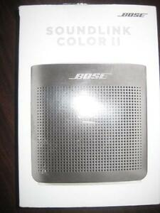 Bose SoundLink Color II Splash Proof Portable Bluetooth Wireless Speaker with Mic. NFC. AUX. Audio. Water Resistant.