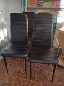 4 x dining chairs £15.00