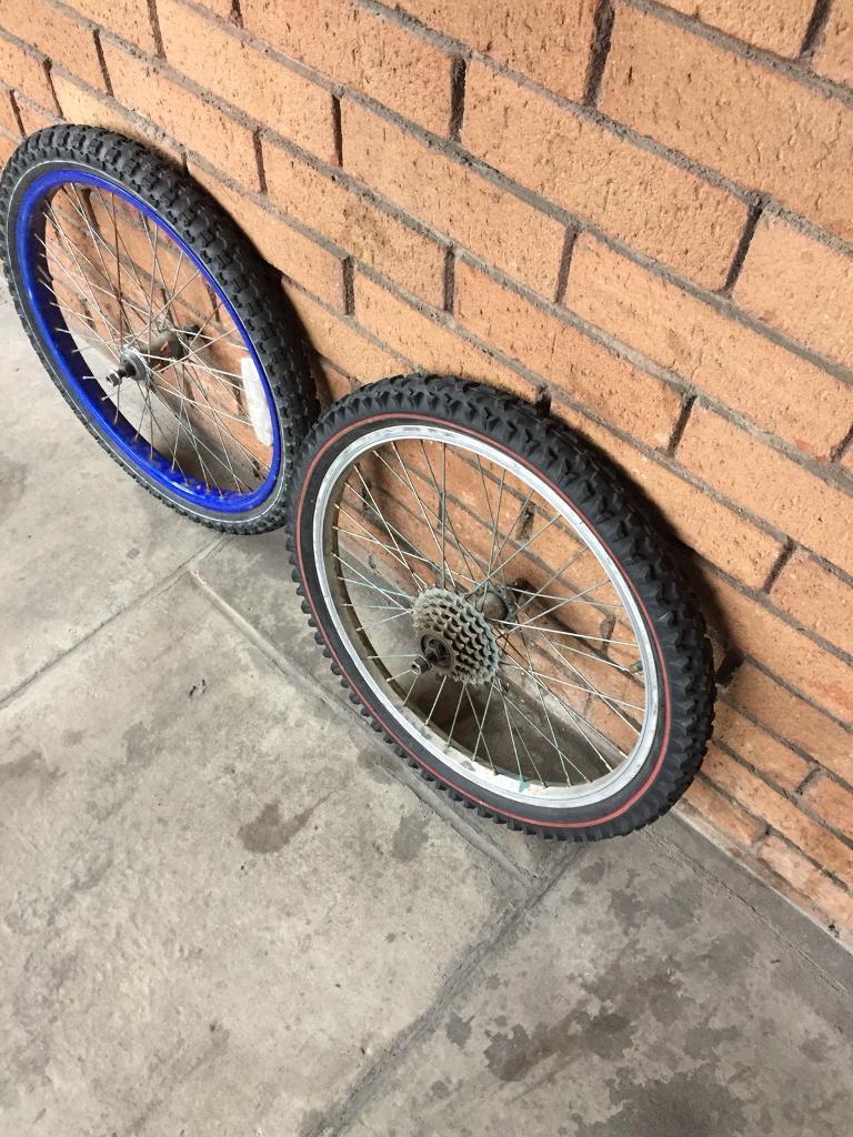 Kid bike wheel size 20