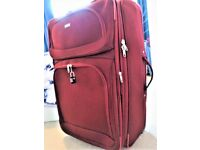 2 WHEEL SYSTEM TRAVEL SOFT SHELL CASE-EXPANDABLE-LIGHT WEIGHT - IDEAL FOR CRUISES OR LONGER JOURNEY