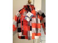 Brand new ,age 4, ski jacket