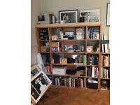 Heals Wooden Storage / Bookcase / Shelving Unit
