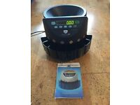 Securina electronic coin counter/sorter