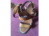 Prada sandals size 6 1/2