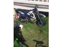 Mini motocross mini dirt bike 49cc auto 2stroke £110