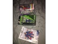 DC and Marvel action figures