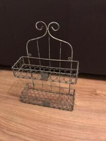 Shabby chic spice rack/shelf